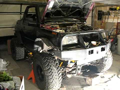 v8 bowtie geo tracker youtube 4x4 truck engine swap kits engine ...