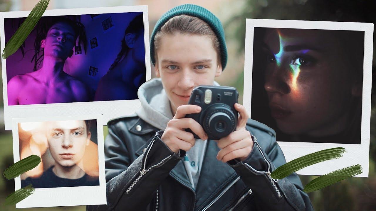 Как сделать эффект фото на фото онлайн