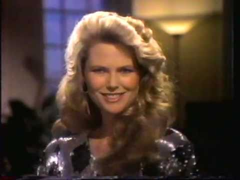 Christie Brinkley Commercial >> 1986 Prell shampoo & conditioner commercial. Featuring ...