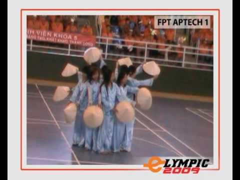 Elympic 2009 - Erobic - Đồng diễn nhảy hiện đại - sinh viên FPT Aptech