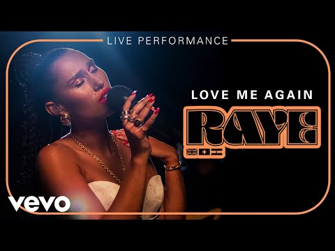 RAYE - Love Me Again - Live Performance | Vevo
