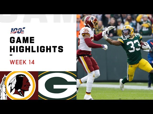 Redskins vs. Packers Week 14 Highlights | NFL 2019 thumbnail
