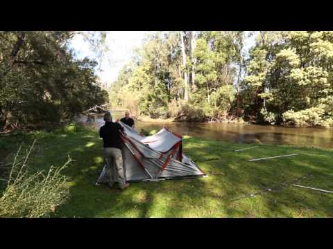 EPE SPEEDY EARTH TENT SET UP