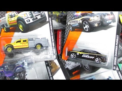 2014 G Matchbox Factory Sealed Case With Dodge Charger Pursuit!