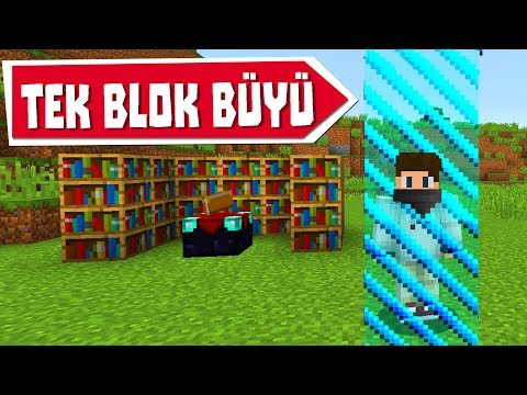 MаNECRAFT ama TEK BLOK  blm 9