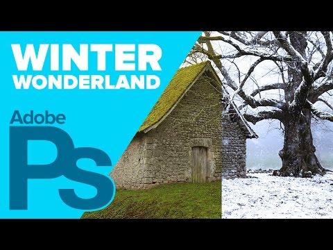 0 Create a Winter Wonderland in Photoshop