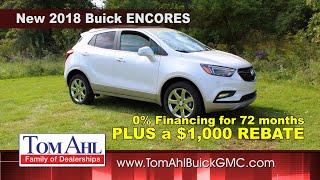 0% Financing Available Plus Rebates on New Encores & HUGE Savings on Sierra Duramax & GMC Acadias