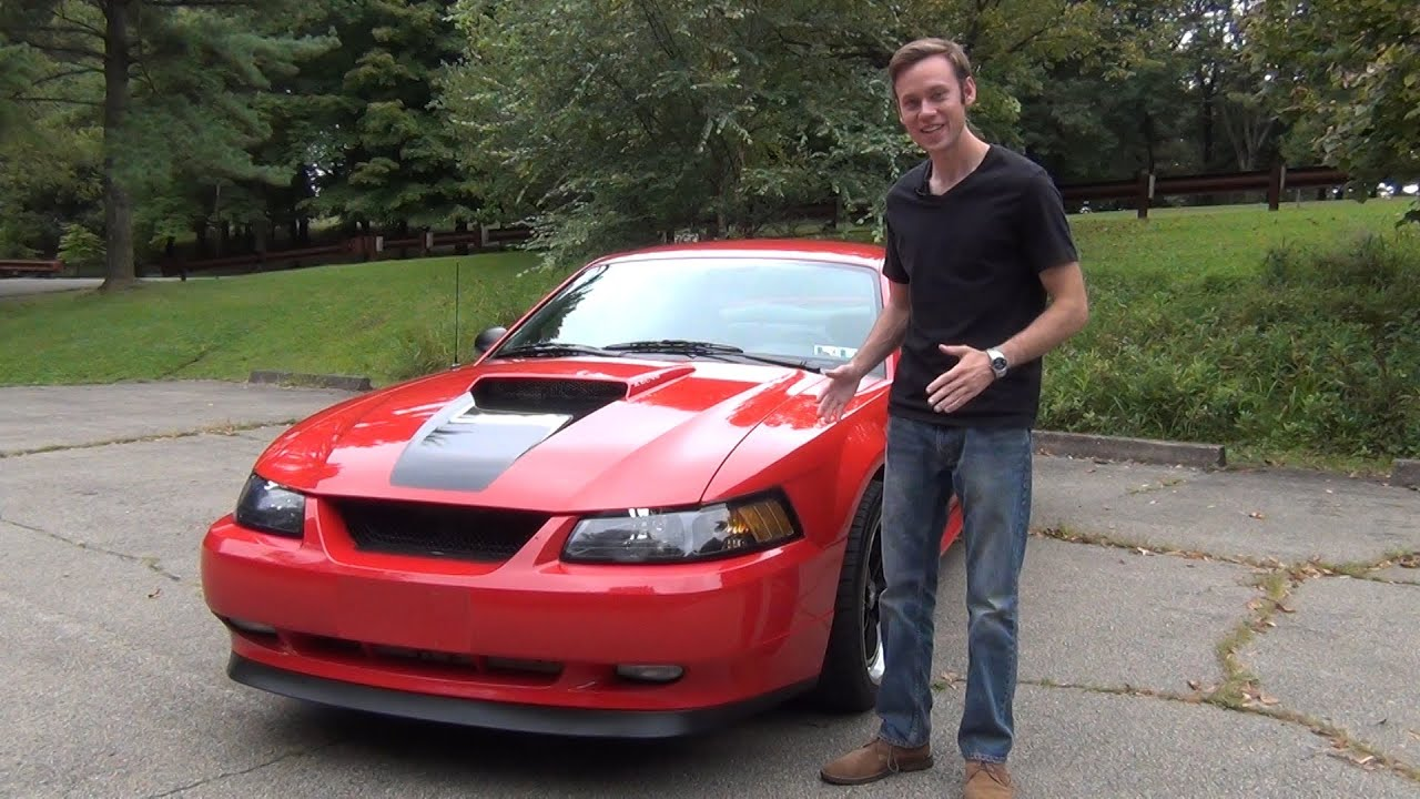 Review 2002 Ford Mustang Gt W Flowmaster Exhaust Youtube