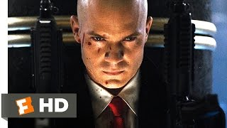 Video clip Hitman (4/5) Movie CLIP - Barrage of Bullets (2007) HD