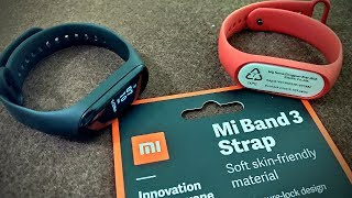 mi band 3 official straps