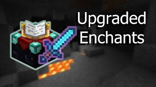 Higher-Level Enchantments -- Vanilla Minecraft 1.9 Command Blocks