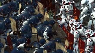 Captain America Versus Stormtrooper - Massive Superheroes Total War Rome 2