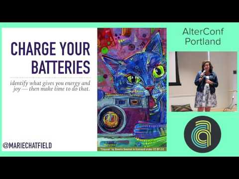 Watch [AlterConf] Low Power Mode: Managing Your Emotional and Creative Energyr