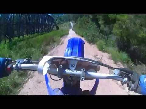 Yz 125 wheelie crash