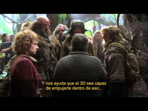 El Hobbit - Video de la Producción #4 HD (Subtítulos Español Latino)