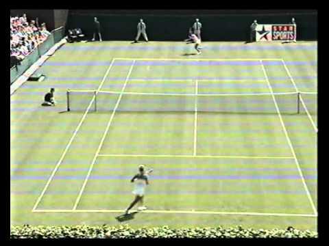 2005 Wimbledon R1: Anastasia Myskina vs Katerina Bohmova Highlights