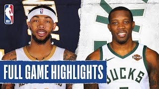 PELICANS at BUCKS | FULL GAME HIGHLIGHTS | December 11, 2019
