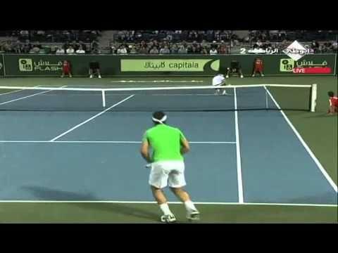 Rafael Nadal Vs David Ferrer - Abu Dhabi 2010 (Capitala)