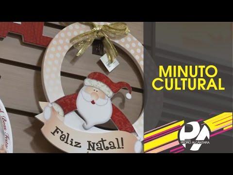 Minuto Cultural Livraria Nobel - Enfeites de Natal