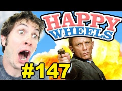 Happy Wheels - JAMES BOND