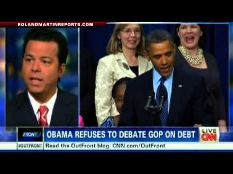 OUTFRONT: President Obama Refuses To Negotiate With Republicans On The Debt Ceiling