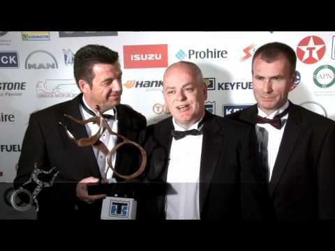 Motor Transport Awards 2012: Fleet Driver of the Year - won by Jim Whitmore, Dairy Crest