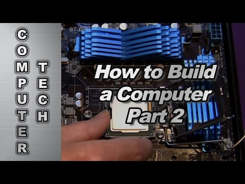 How to Build a Computer - all steps included Part 2/2