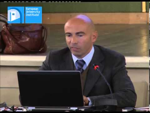 Giulio Napolitano Roma Tre The Global Governance of Financial Stability and its Democratic Control