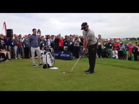Bubba Watson 2015 PGA Show Demo Day Experience