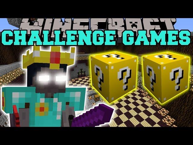 Minecraft WALKER KING CHALLENGE GAMES - Lucky Block Mod - Modded Mini-Game