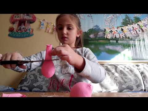 Как да си направим топче брашно и балони