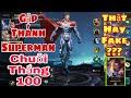 Liên Quân | Gặp Phải Best Superman TV ( Fake ) Chuỗi Thắng 100 - Tưởng Thua Ai Ngờ Lại Thắng