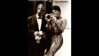LOUIS AMSTRONG/JEWEL BROWN-CHA, CHA, CHA