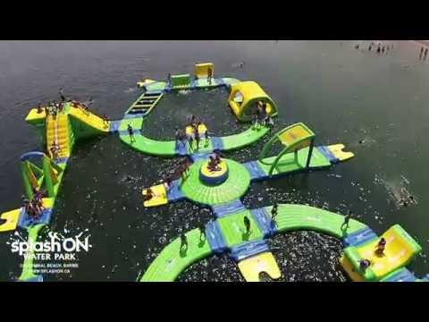 Splash ON Water Park, Centennial Beach, Barrie, Ontario