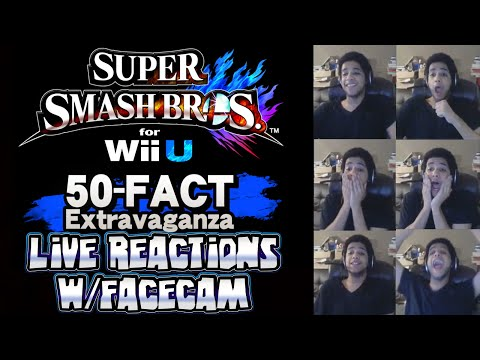 Nintendo Direct 50 Fact Extravaganza LIVE REACTIONS w/Facecam