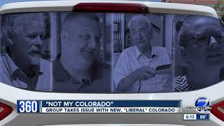 'Not my Colorado' and 'Not my Governor' bumper stickers are popping up in Northern Colorado