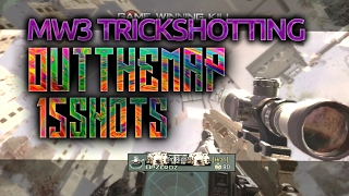 Out The Map Trickshotting #7! 15 SHOTS! We Hit 6 games in a Row!!