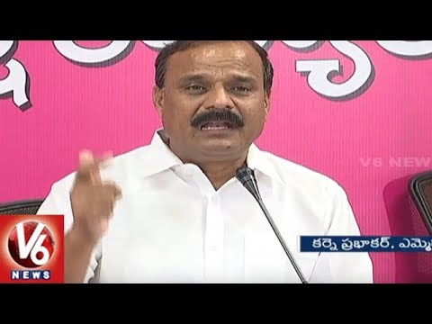 TRS MLC Karne Prabhakar Fires On Congress Leader Nagam Janardhan Reddy | V6 News