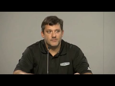 Tony Stewart (Full) Press Conference - Aug 29, 2014