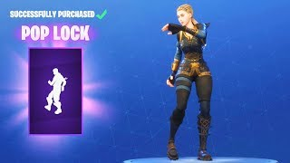 *NEW* POP LOCK DANCE EMOTE (Fortnite Item Shop Update June 22)