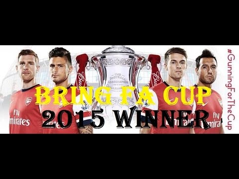 Arsenal all goals Fa Cup 2014 - 2015