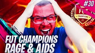 FIFA 19 MY FUT CHAMPIONS GONE WRONG! INSANE RAGE AND EA AIDS! ROAD TO GLORY #30