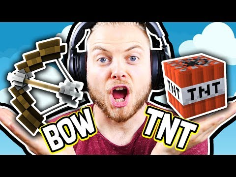 WINNING BEDWARS ONLY USING THESE ITEMS!! - Minecraft Mini Game