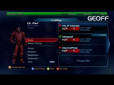 Let's Play Mass Effect 3 With Geoff, Gav, & Michael