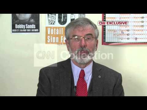 SINN FEIN - GERRY ADAMS DENIES MURDER ALLEGATION