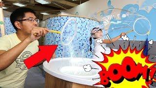 BÉ BÚN CHƠI BONG BÓNG XÀ PHÒNG ♥ Creative Kid's♥