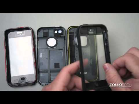 Lifeproof vs OBEX for iPhone 5