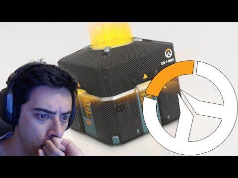 Segura a emoção! - Overwatch Abrindo Caixas!