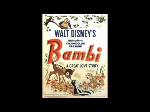 Rare Walt Disney Interview On Bambi (1947)