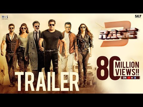 Race 3 Official Trailer | Salman Khan | Remo D'Souza | Bollywood Movie 2018 | #Race3ThisEID thumbnail